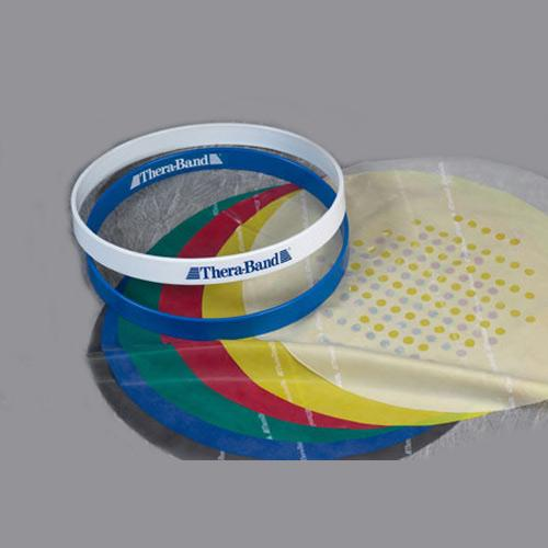 Includes Trainer and Thera-Band Tan,Yellow, Red, Green, Blue and Black Refill Sheets