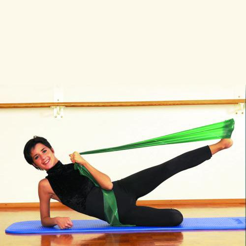 Exercise Bands Green: Thera-Band Latexfree Resistance Bands
