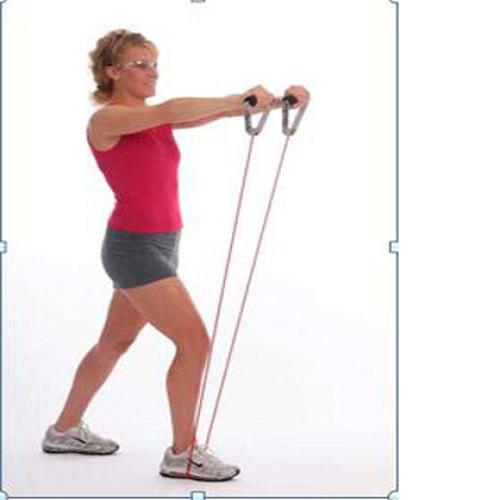 Strengthens the knees and legs